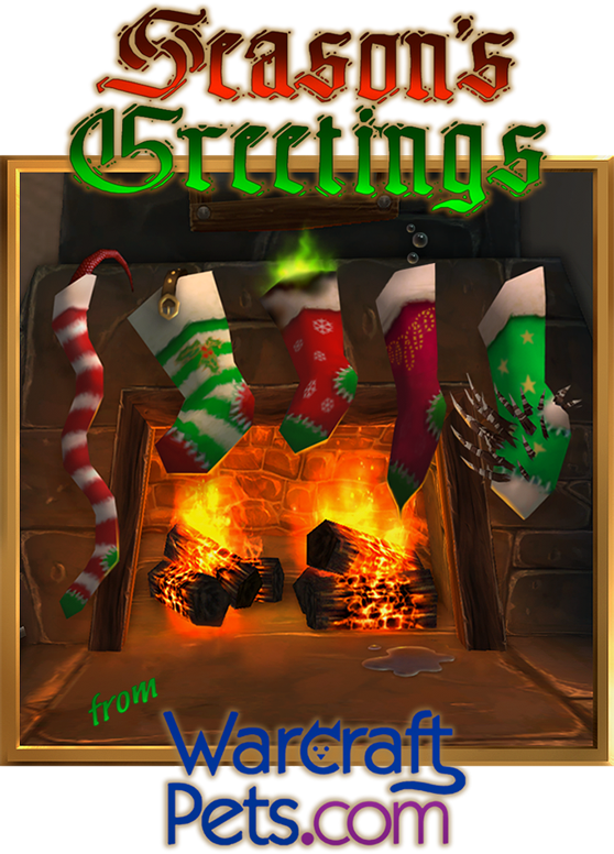 Season's Greetings from WarcraftPets!