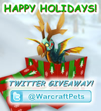 Happy Holidays and Twitter Giveaway