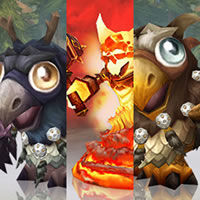 Moonkin Hatchling and Lil' Ragnaros On Sale!