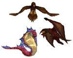 Tickbird, Cobra, and Proto-Drake Whelp